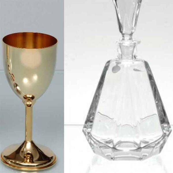 Καράφα ποτήρι σε τιμές προσιτές