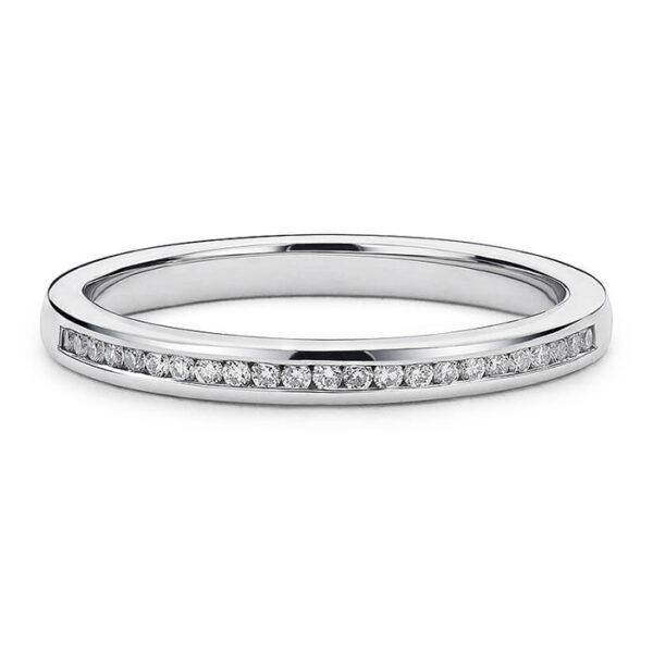 Δαχτυλίδι Κ18 λευκόχρυσο