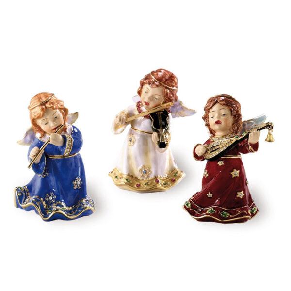 Φιγούρες άγγελοι με σμάλτο