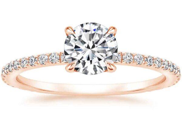 Μονόπετρo δαχτυλίδι διαμάντι