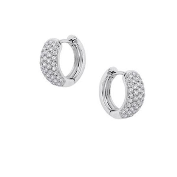 Σκουλαρίκια με διαμάντια σε νέα σχέδια