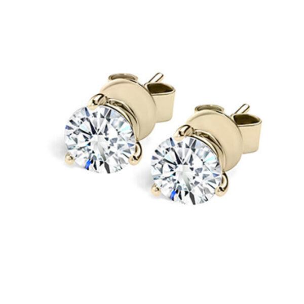 Νυφικά σκουλαρίκια με διαμάντια