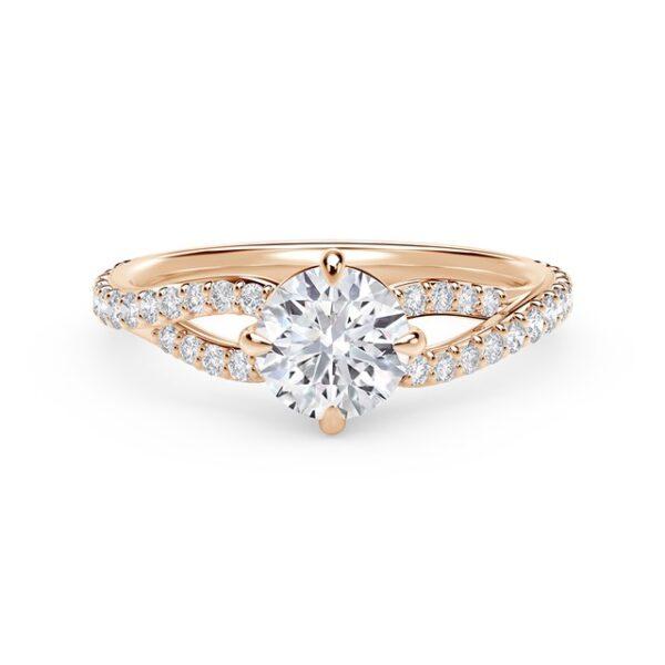 Μονόπετρα δαχτυλίδια με διαμάντι