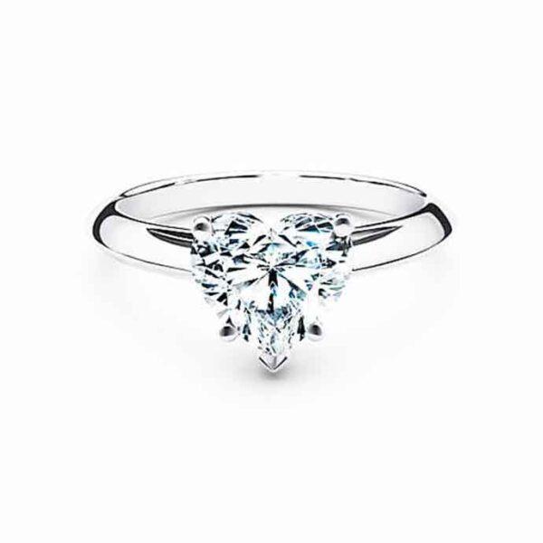Δαχτυλίδι καρδιές & διαμάντια στα τρία χρώματα του Cartier