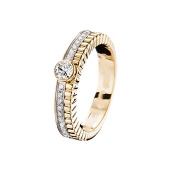 Mονόπετρo δαχτυλίδι για γάμο