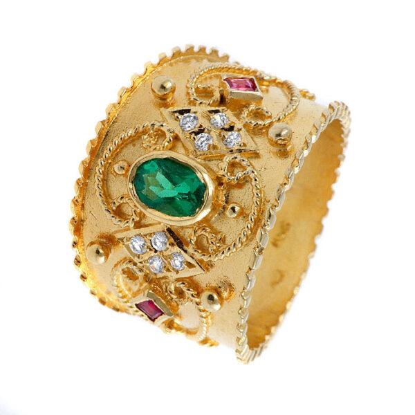 Βυζαντινά δαχτυλίδια χρυσά