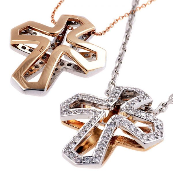 σταυρος με διαμαντια