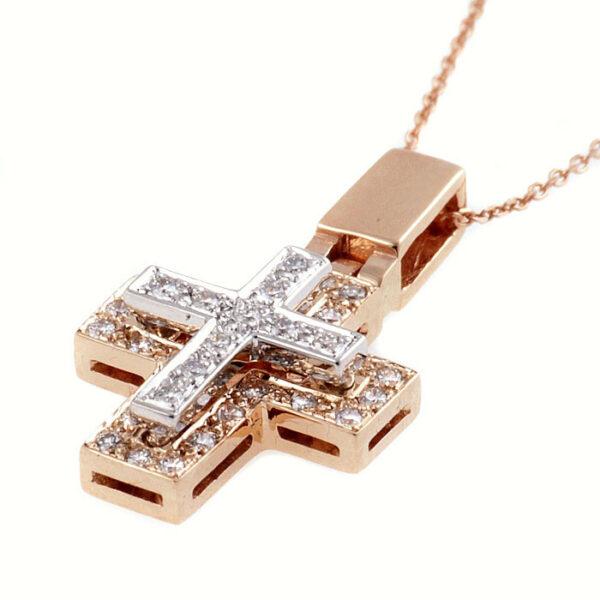γυναικειος σταυρος με μπριγιαν