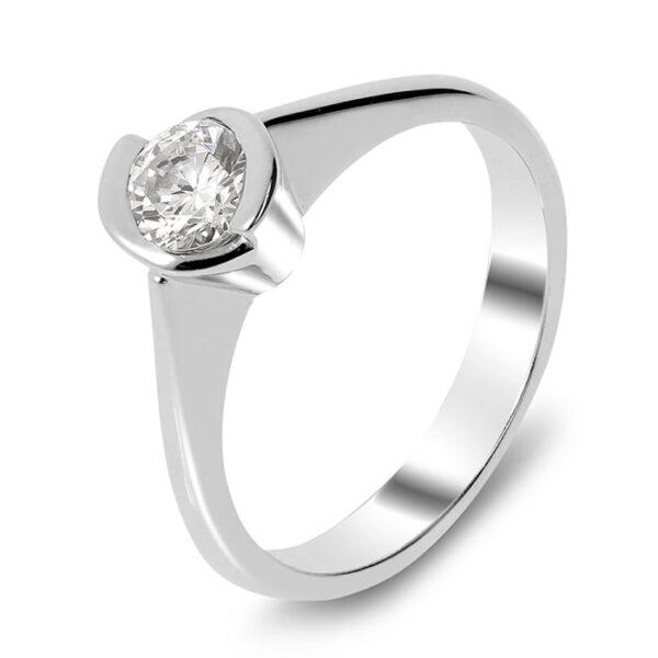 Μονόπετρο δαχτυλίδι κορυφαίο design