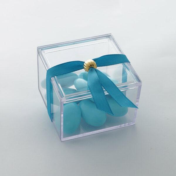 κουτάκι plexiglass μπομπονιέρα