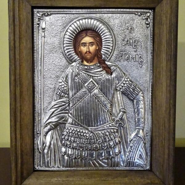 αγιος αρτεμιος εικονα