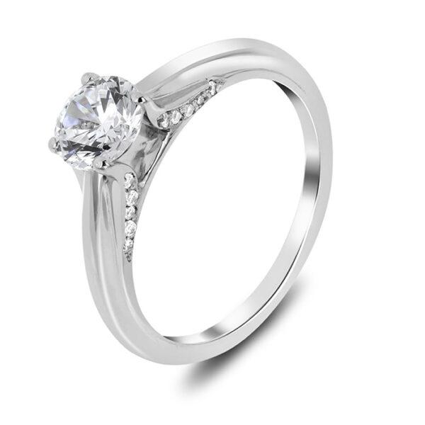 Μονόπετρο διαμάντια