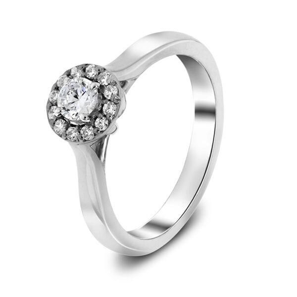 μονόπετρο δαχτυλίδι