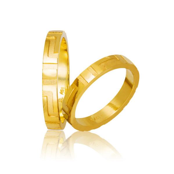 νέες προτάσεις σε βέρες γάμου σε σχέδιο Μαίανδρος