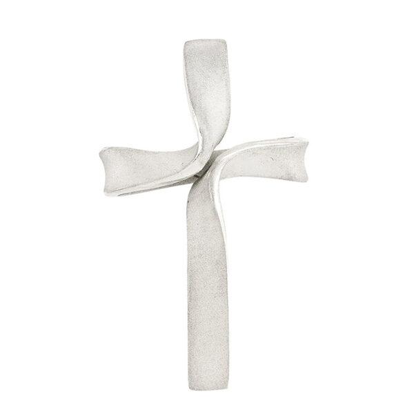 Σταυρός βάπτισης λευκόχρυσος για κορίτσι