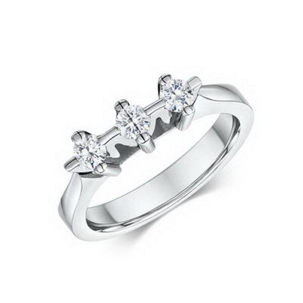 δαχτυλίδι αρραβώνα με διαμάντια