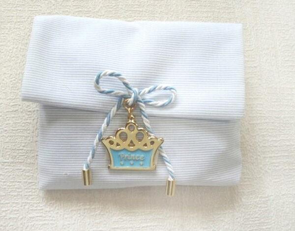 μπομπονιέρα βάπτισης με κόσμημα prince