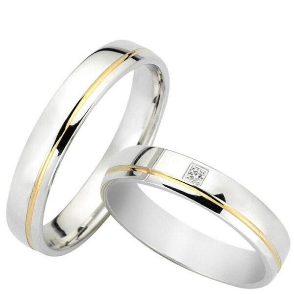 Βέρες γάμου δίχρωμες – Κόσμημα και ρολόγια Κετσετζόγλου