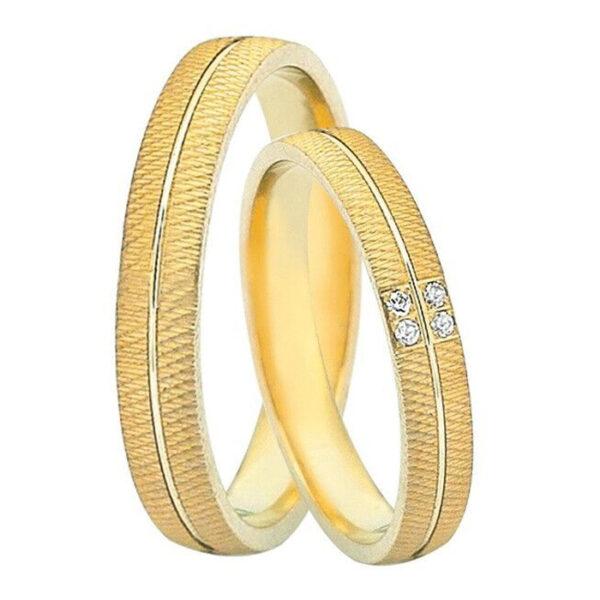 βέρες χρυσές με δώρο τα διαμάντια