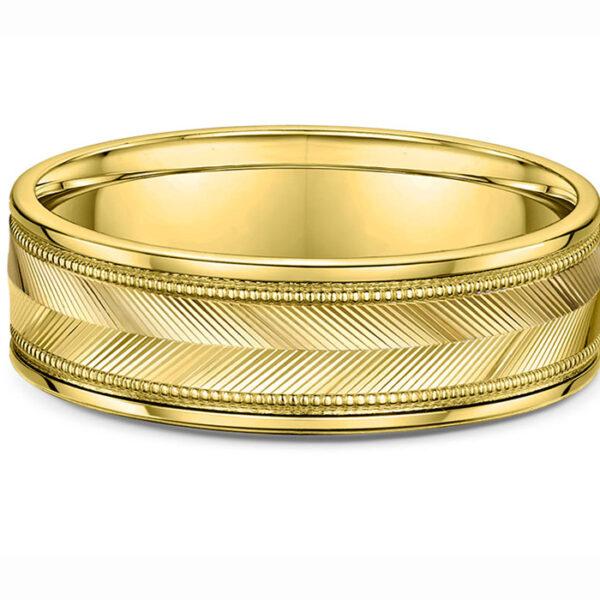 περίτεχνες βέρες γάμου σε κίτρινο χρυσό