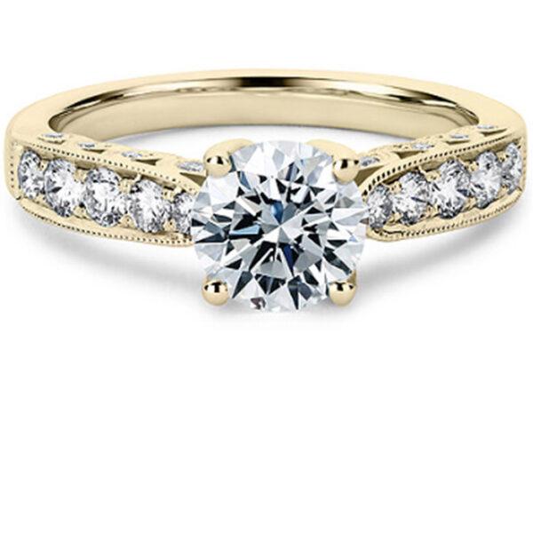 μονόπετρο δαχτυλίδι χρυσό υψηλής ποιότητας