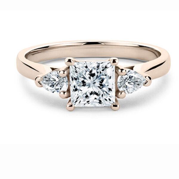 μονόπετρο δαχτυλίδι γάμου ή αρραβώνα