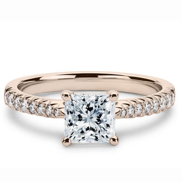 μονόπετρο δαχτυλίδι για την αιώνια αγάπη