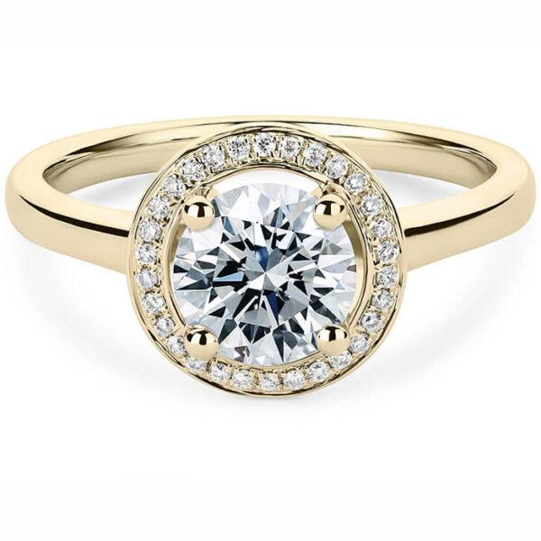 Μονόπετρο δαχτυλίδι με σύγχρονο design