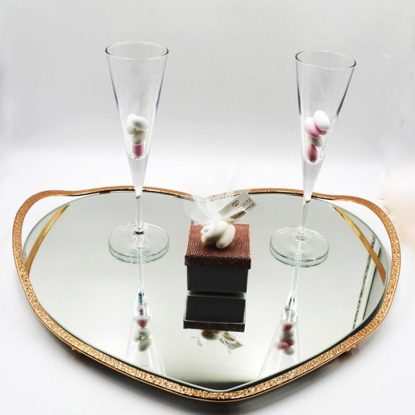 δίσκος ποτήρια ιδανικά για τον γάμο σας