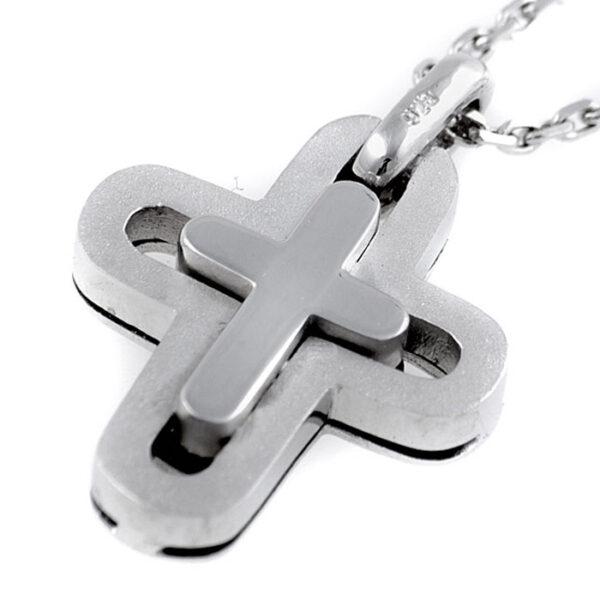 σταυροί βάπιστης σε λευκόχρυσο