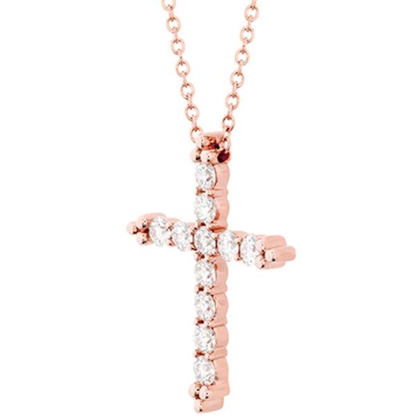 χειροποίητος σταυρός βάπτισης με διαμάντια