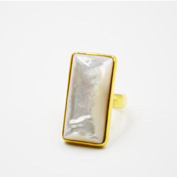 μοντέρνο δαχτυλίδι με φίλντισι