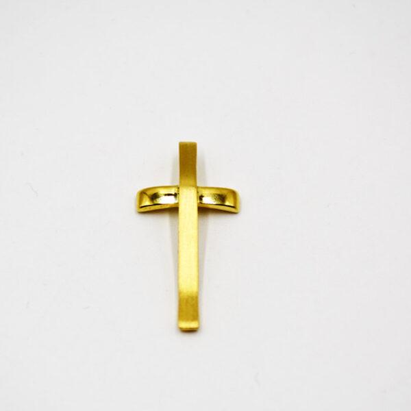 μοναδικός σταυρός βάπτισης σε κίτρινο χρυσό