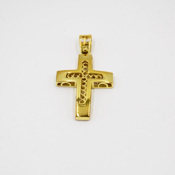σταυροί βάπτισης χρυσοί για αγόρι