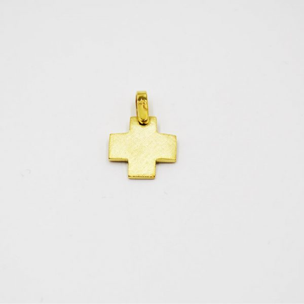 σταυρός βάπτισης σε χρυσό