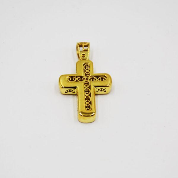 σταυρός βάπτισης χρυσός