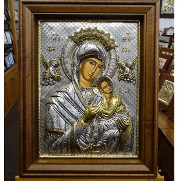 Εικόνα βυζαντινή Παναγία Αμόλυντος