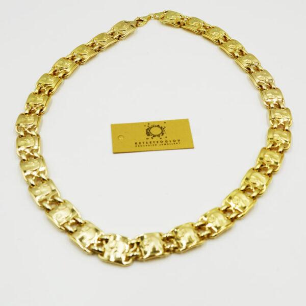 κολιέ κόσμημα σε κίτρινο χρυσό