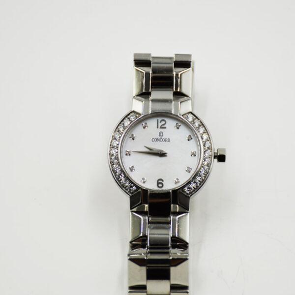 ρολόι Concord με μπριγιάν