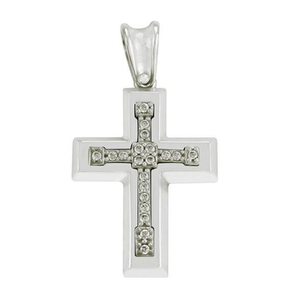 λευκόχρυσος σταυρός