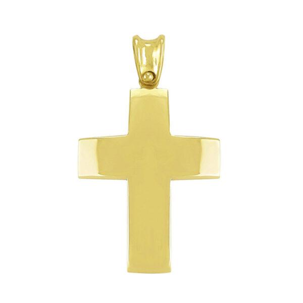 σταυρός βάπτισης σε κλασικό σχέδιο