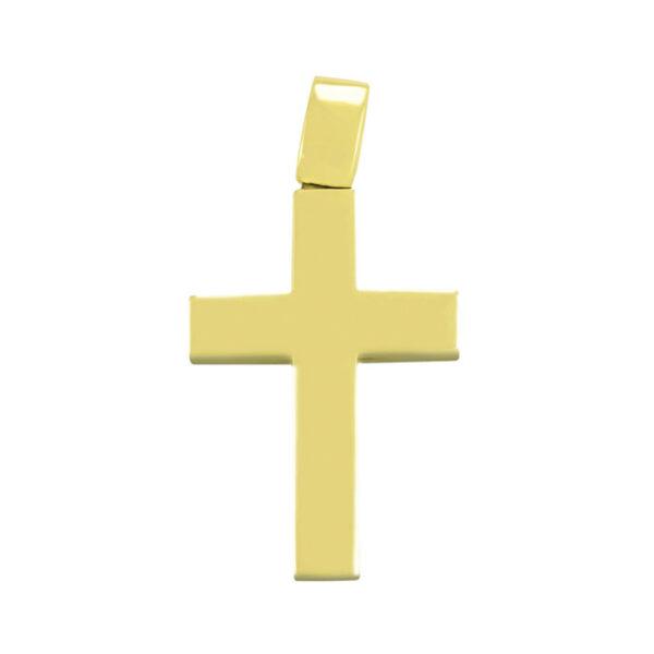 σταυρός βάπτισης με ιδιαίτερη κλασική γραμμή