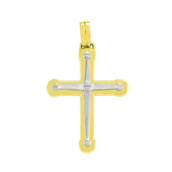δίχρωμος σταυρός βάπτισης σε νέο σχέδιο