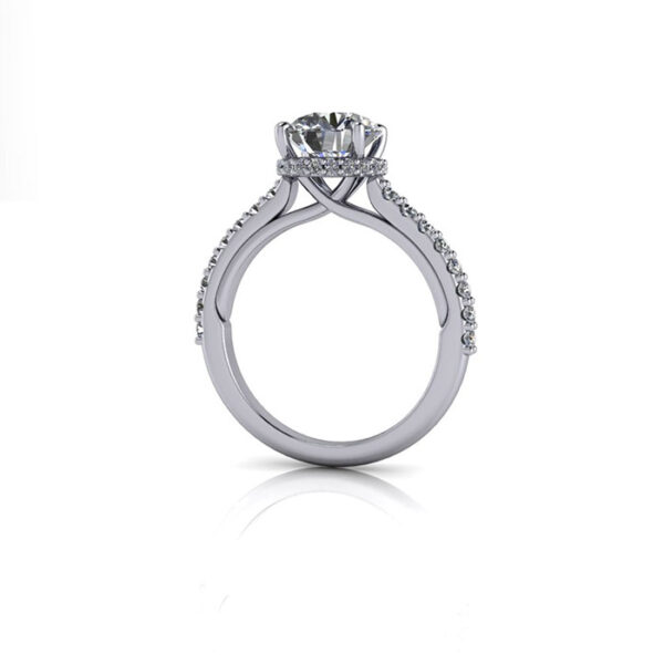 Δαχτυλίδι μονόπετρο σύμβολο αγάπης και αφοσίωσης