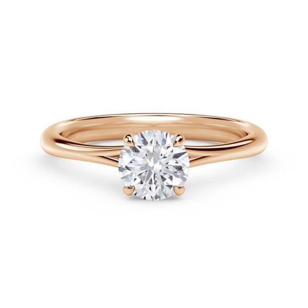 Πολύτιμα μονόπετρα δαχτυλίδια με διαμάντι