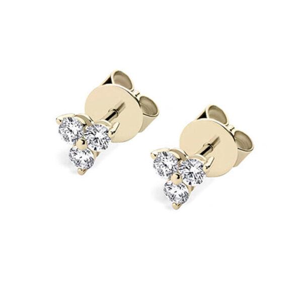 Μονόπετρα σκουλαρίκια με διαχρονική αξία