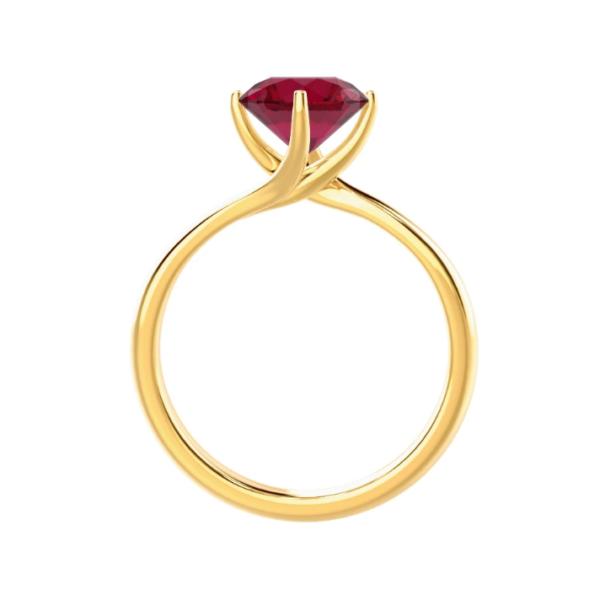 Ρουμπίνι δαχτυλίδι κορυφαίας ποιότητας