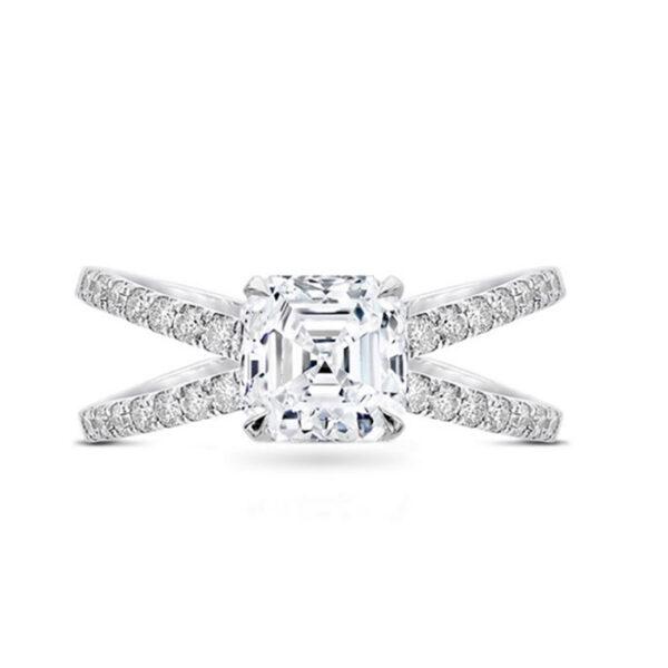 Μονόπετρο δαχτυλίδι με κομψότητα και όμορφο σχεδιασμό