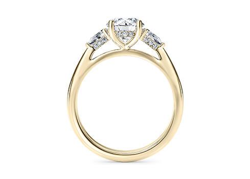 Μονόπετρο δαχτυλίδι με φινέτσα και διαχρονικό στυλ