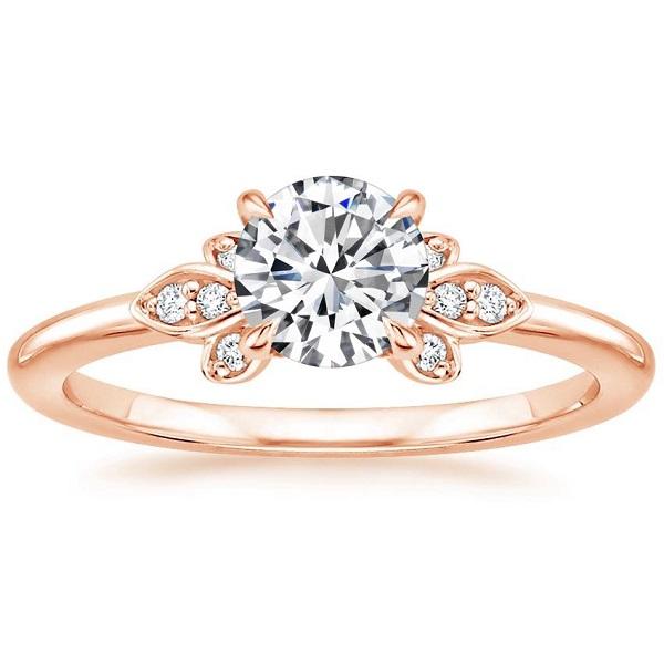 Πρωτότυπα δαχτυλίδια αρραβώνων σε ροζ χρυσό - Ketsetzoglou.gr